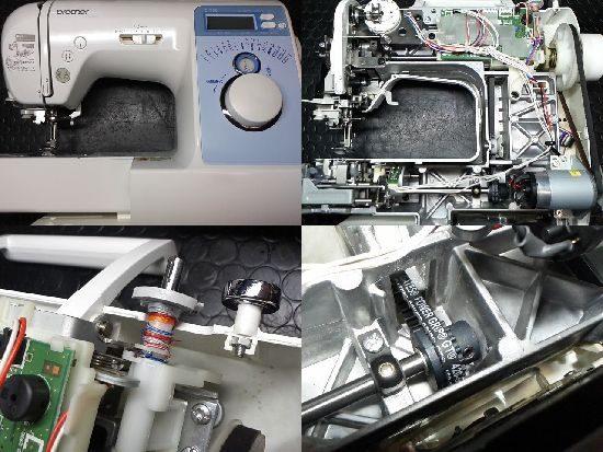 ブラザーCPV03のミシン修理
