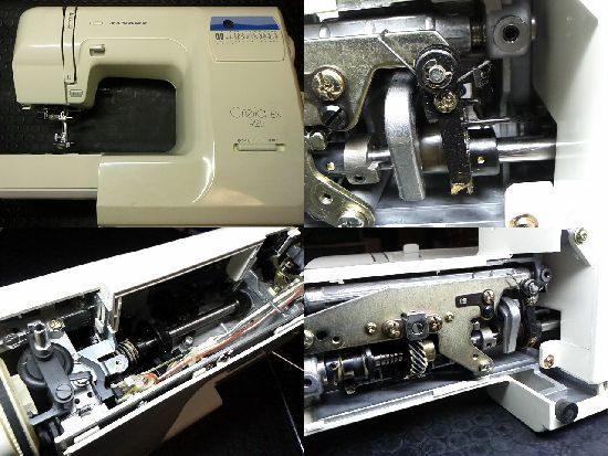 JANOMEクレリア925EXのミシン修理