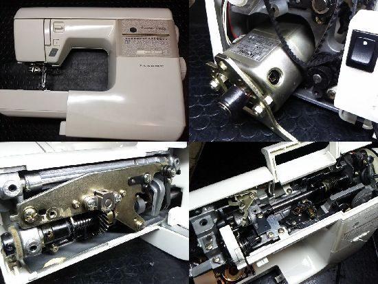 ジャノメクラウンレディ5007のミシン修理