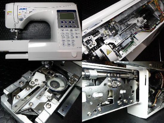 JUKIエクシードドレスメイクのミシン修理