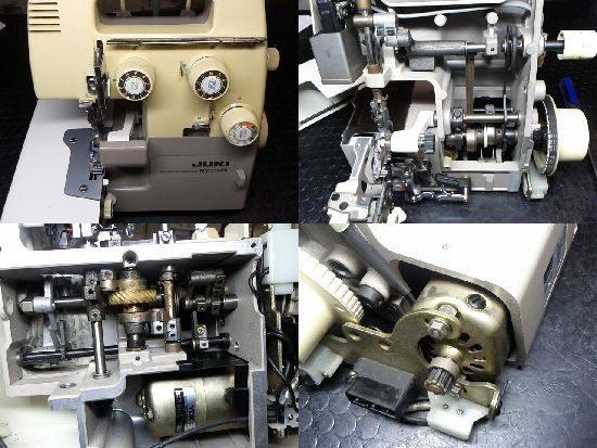 JUKI MO-350DXのミシン修理