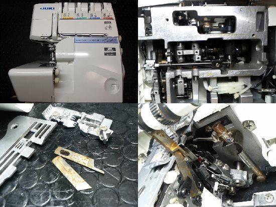 JUKIミシン修理分解画像MO-345DC