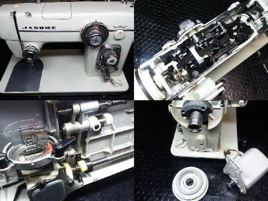 ジャノメ680のミシン修理