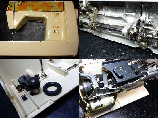SINGERモナミ384のミシン修理