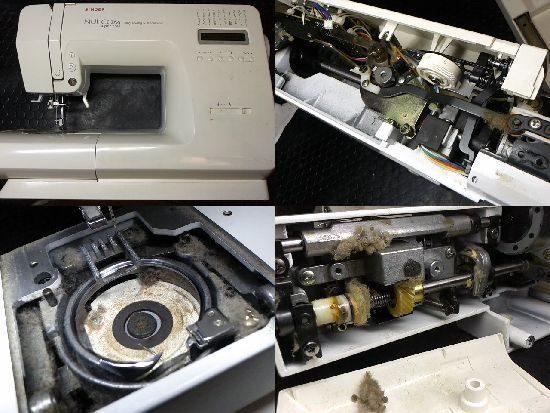 SINGERヌイコムスーパー5580のミシン修理