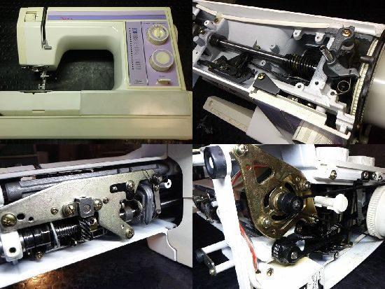 JANOMEプレールSP642型のミシン修理