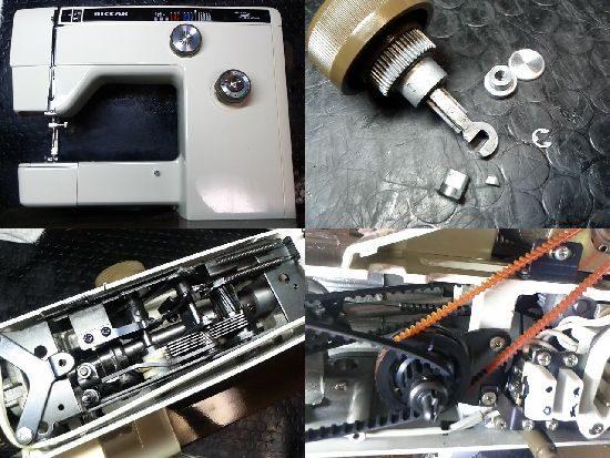 リッカーR-805のミシン修理