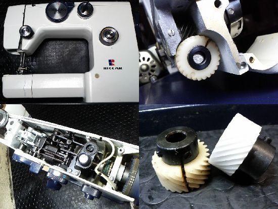 リッカーRZ-2700のミシン修理