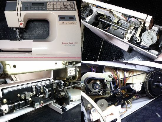 JANOMEセンサークラフト7301のミシン修理