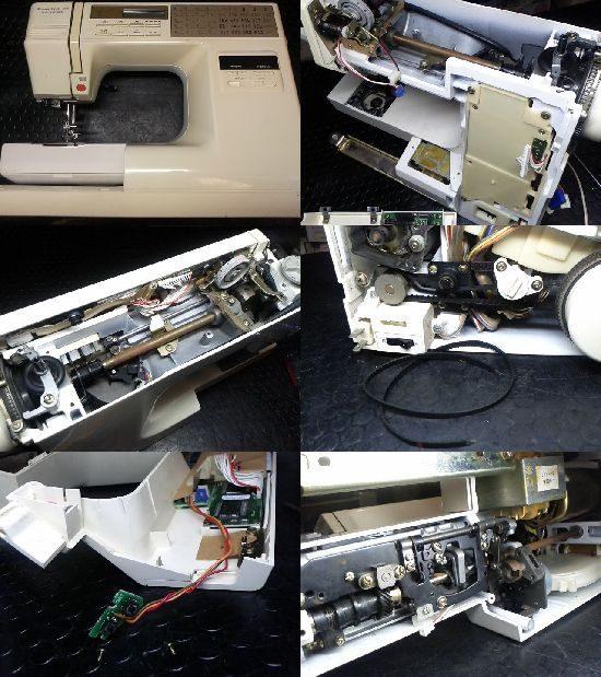 JANOMEセンサークラフト7501のミシン修理