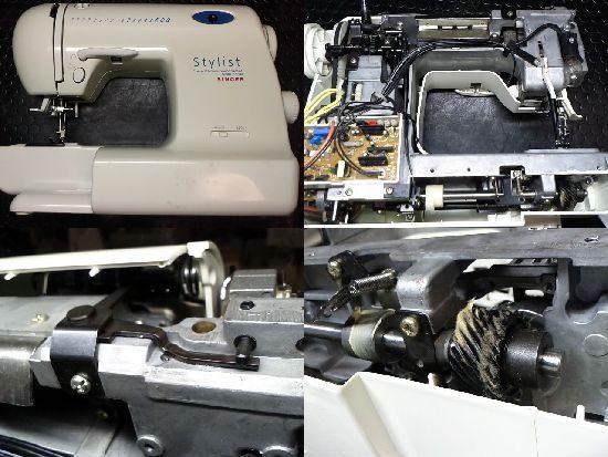 SINGERスタイリストST-9500のミシン修理