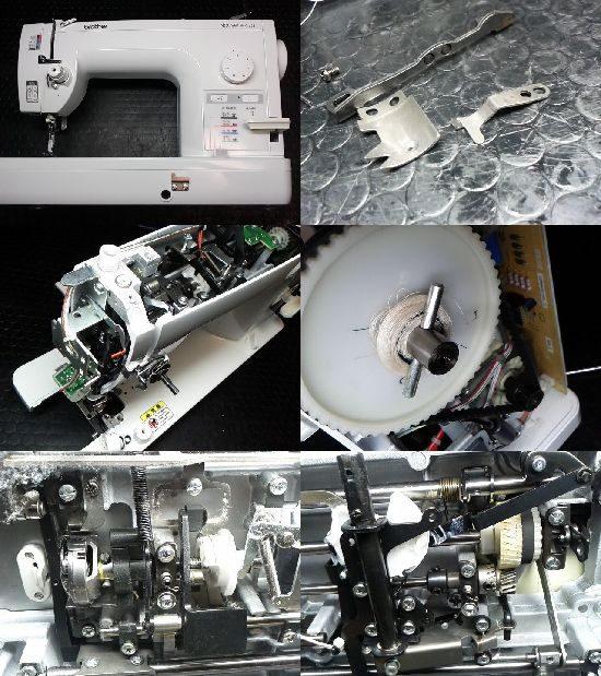 Brother直線ぬい専用ミシンTAT76のミシン修理