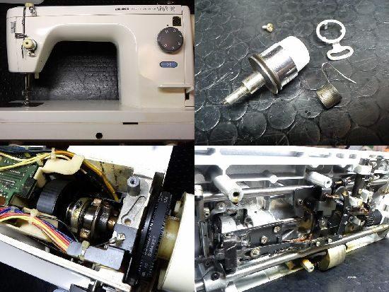 JUKI SPUR90のミシン修理