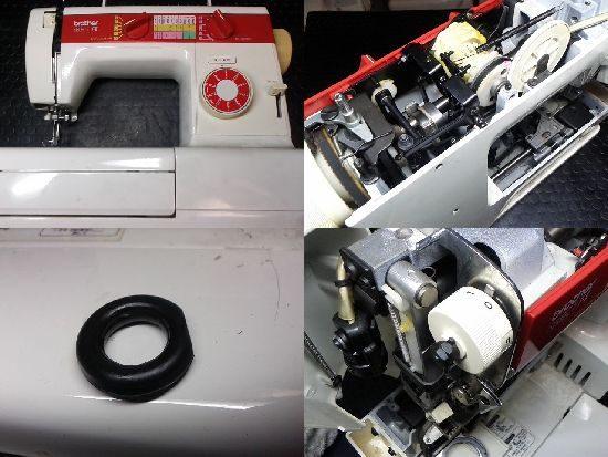 BrotherセレクトF2ZZ3-B557のミシン修理
