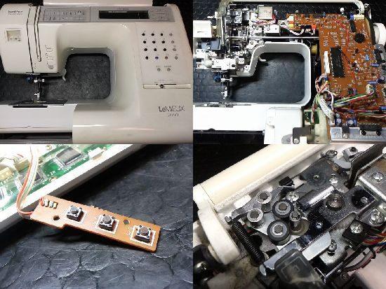 ブラザーZZ3-B891のミシン修理