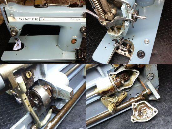 シンガー188Uブルーチャンピオンのミシン修理