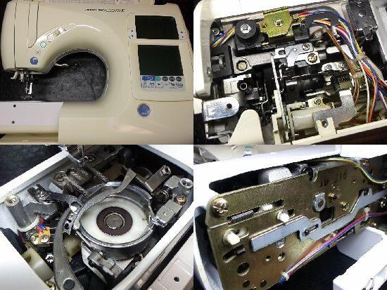JUKIニューアローネ008Nのミシン修理