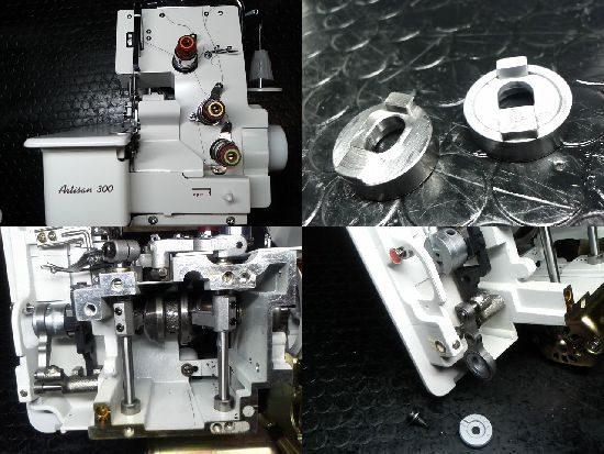 ベビーロックArtisan300のミシン修理