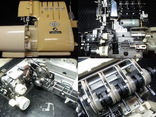 ジューキ衣縫人BL517のミシン修理