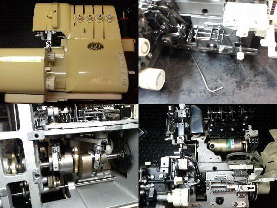 ベビーロック衣縫人BL57のミシン修理