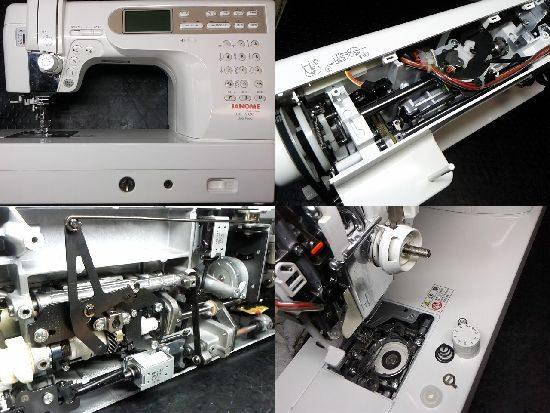 ジャノメCK1200のミシン修理