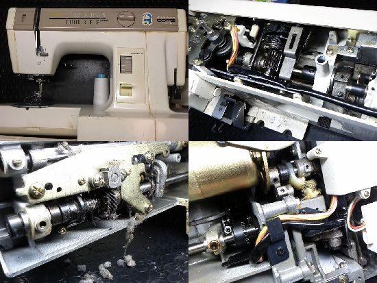 ジャノメコンビスーパーDXのミシン修理