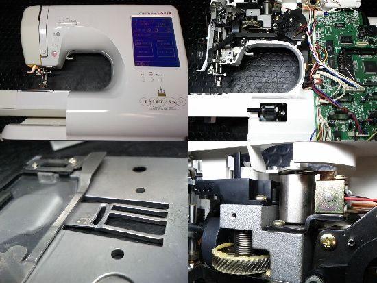 シンガーフェアリーランド9800のミシン修理