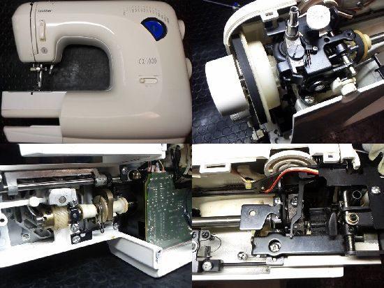 ブラザーCX-1000のミシン修理