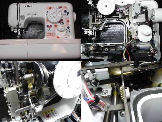 ブラザーELU5808のミシン修理