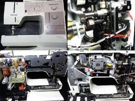 BERNINAホリデーヌ1240のミシン修理