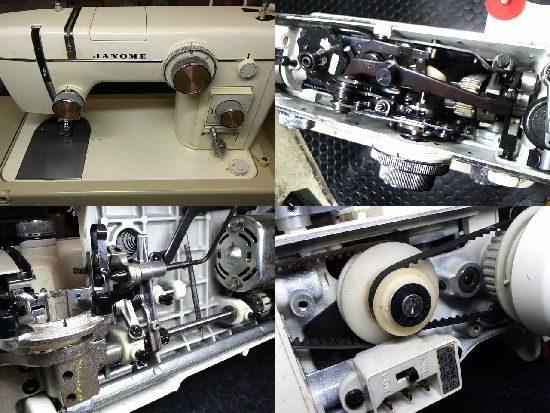 ジャノメ802のミシン修理