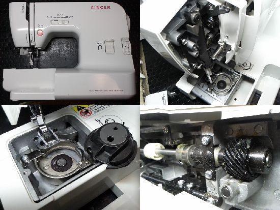 シンガーアックスヤマザキMF-8201のミシン修理