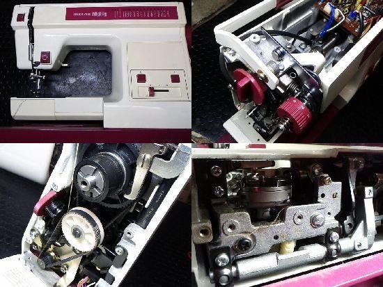 リッカーマイティB5のミシン修理