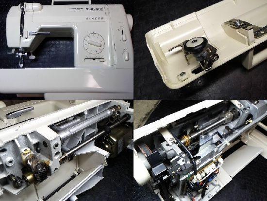 シンガーモナミ1743のミシン修理