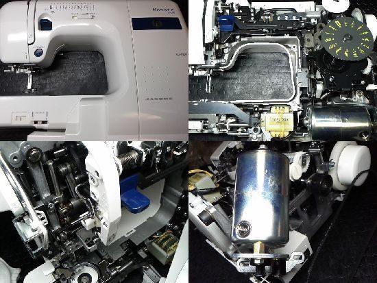 ジャノメモナーゼE4000のミシン修理