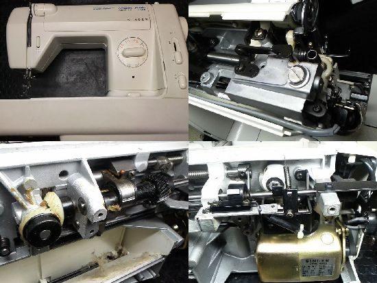 シンガーmonamiNEWFX1748のミシン修理