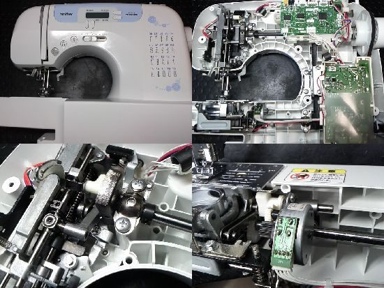 ブラザーCPS42のミシン修理