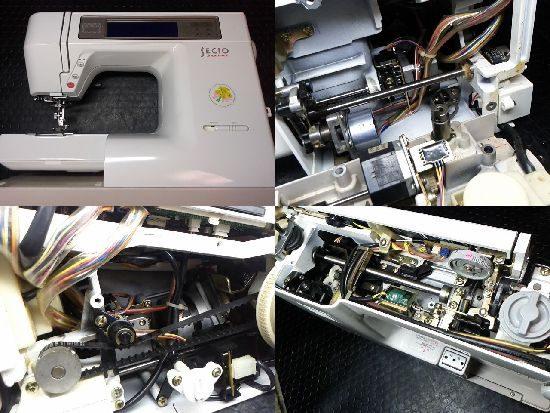 JANOMEセシオ8200のミシン修理