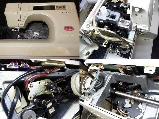 ジャノメセシオ8500のミシン修理