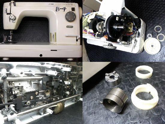 シュプール90のミシン修理