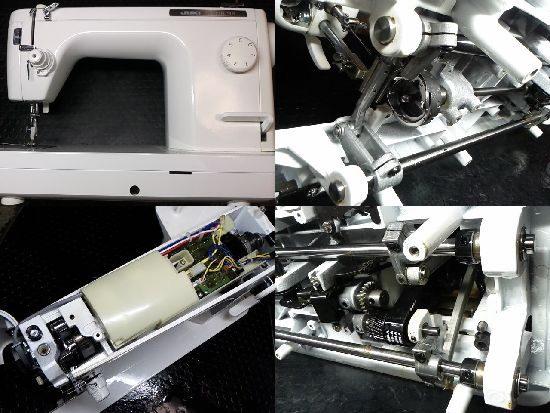 JUKIミシンTL-98の修理