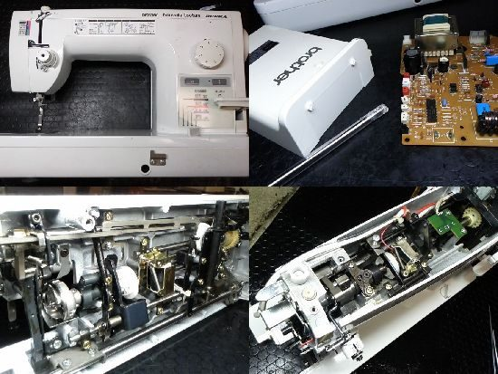 ブラザーヌーベルクチュールBUNKAのミシン修理