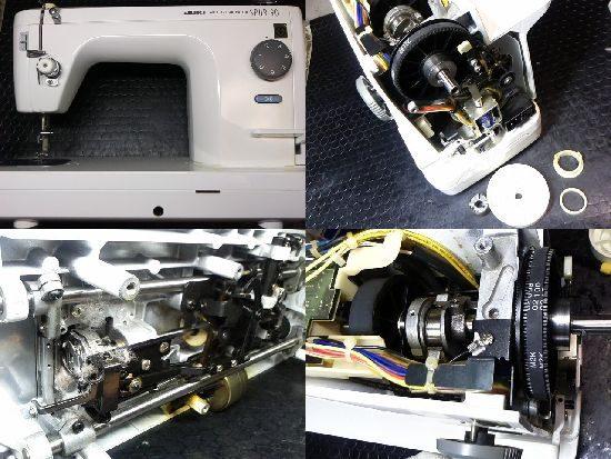 JUKI TL-90のミシン修理