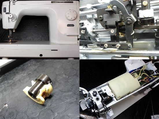 JUKIシュプール98SPのミシン修理
