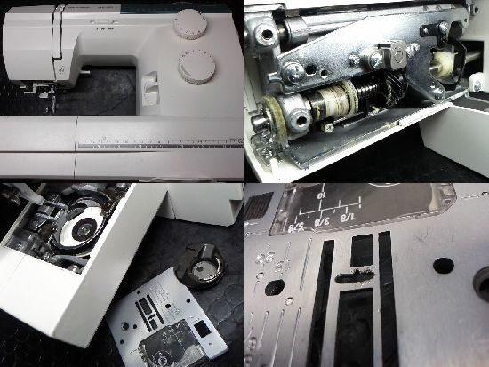 ハスクバーナエメラルド122のミシン修理
