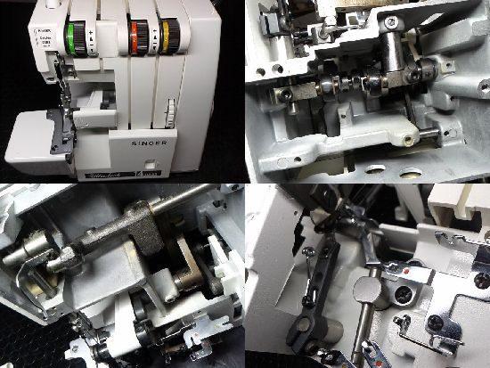 シンガー14U832のミシン修理