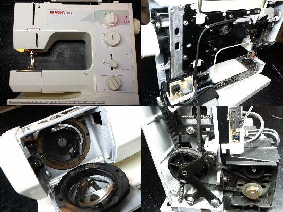 BERNINA1008のミシン修理