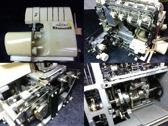 ベビーロック糸取物語BL660スペシャルのミシン修理