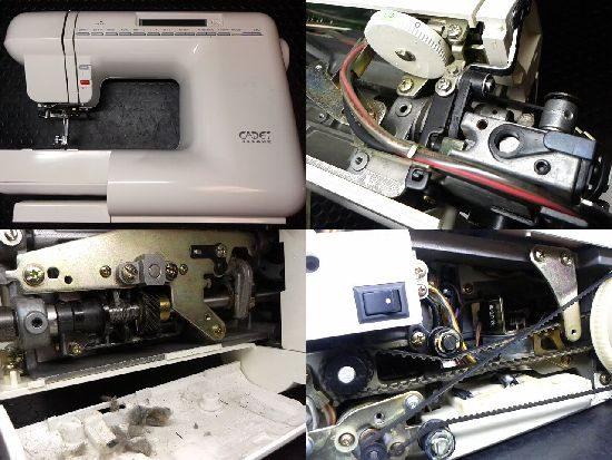 ジャノメカデットのミシン修理