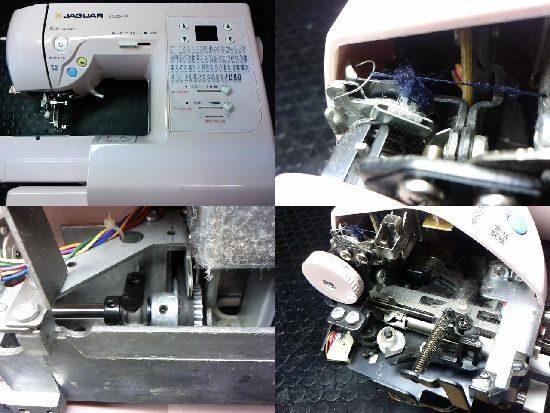 ジャガーCD-2204MPのミシン修理